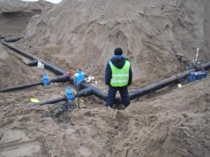 Наружное водоснабжение. Монтаж