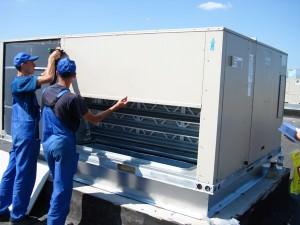 Монтаж промышленных систем отопления