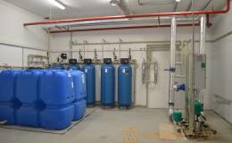 система фильтрации и накопительные емкости