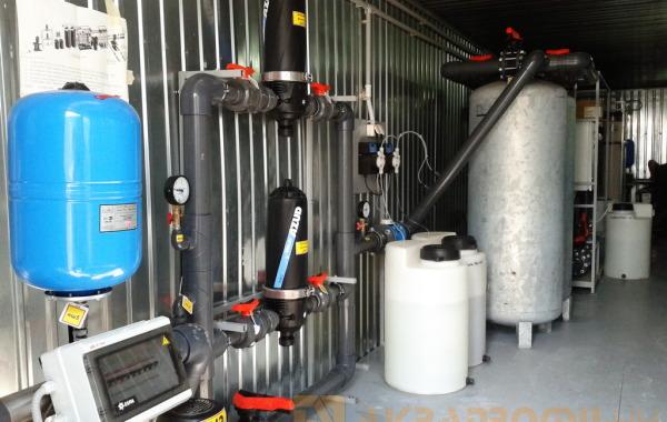 Станция водоподготовки. Ультрафильтрация