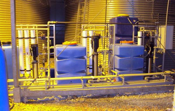 Установка концентрирования сточных вод