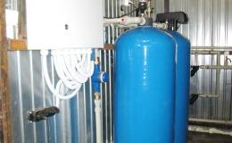 Щит управления водоподготовкой