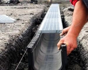 Монтаж ливневой системы водоотведения