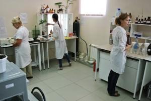 Лаборатория по проведению анализа воды