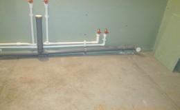 Система трубопроводов для водоснабжения